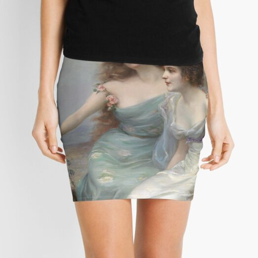 Edouard Bisson Die drei Grazien The Three Graces Mini Skirt