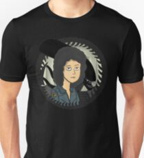 Ripley, signing off w/ grey tail Unisex T-Shirt