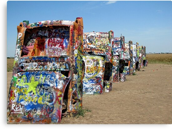 Cadillac Ranch by © Loree McComb