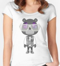 Kanye West Graduation bear Women's Fitted Scoop T-Shirt