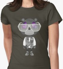 Kanye West Graduation bear Womens Fitted T-Shirt