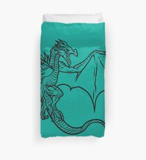 Skyrim Dragon Duvet Cover
