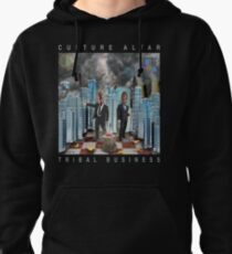 Tribal Business Pullover Hoodie