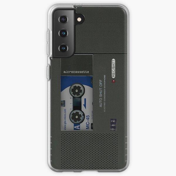 Microcassette Recorder Samsung Galaxy Soft Case