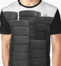 wall of tyres Graphic T-Shirt