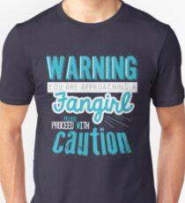 Warning, Fangirl Vr. 2 T-Shirt