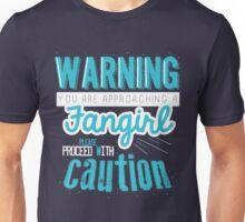 Warning, Fangirl Vr. 2 Unisex T-Shirt