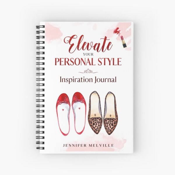Elevate Your Personal Style Spiral Notebook