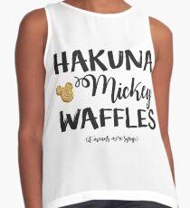 Hakuna Mickey Waffles Contrast Tank