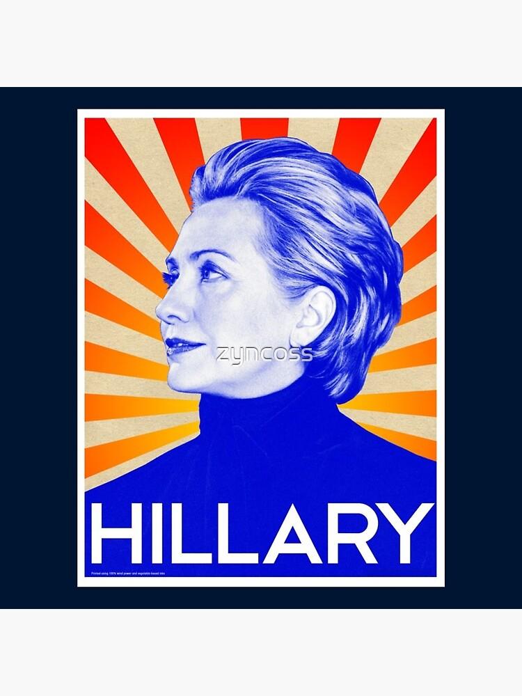 Hillary Clinton by zyncoss