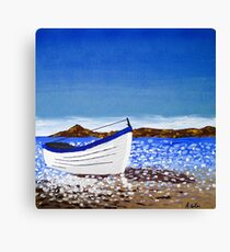 Donegal Dingy (acrylic on canvas) Canvas Print