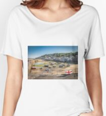 Mousehole, Cornwall Women's Relaxed Fit T-Shirt