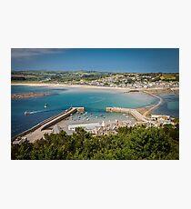Marazion, Cornwall Photographic Print
