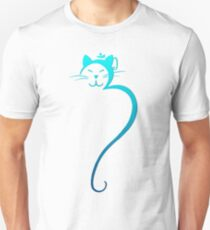 Om Kitty - Turquoise Unisex T-Shirt