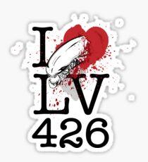 I <3 LV-426 Sticker