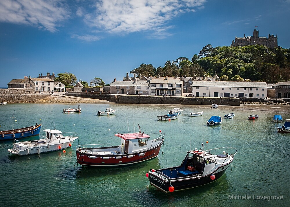 St Michaels Mount, Cornwall, UK by Michelle Lovegrove