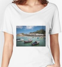 St Michaels Mount, Cornwall, UK Women's Relaxed Fit T-Shirt
