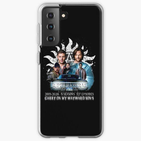 Limited Edition Supernatural  Samsung Galaxy Soft Case