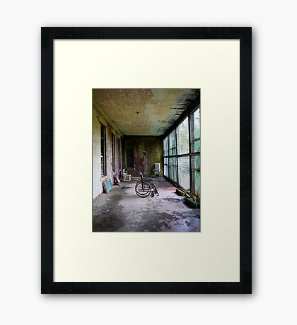 Norwich State Hospital, Norwich CT 1 Framed Print