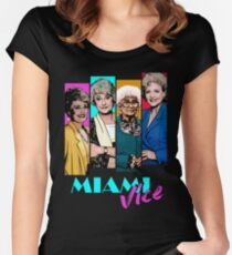 Miami Vice Women's Fitted Scoop T-Shirt