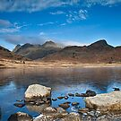 Blea Tarn, Cumbria, uk by Michelle Lovegrove