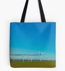 Cornish Windfarm Tote Bag