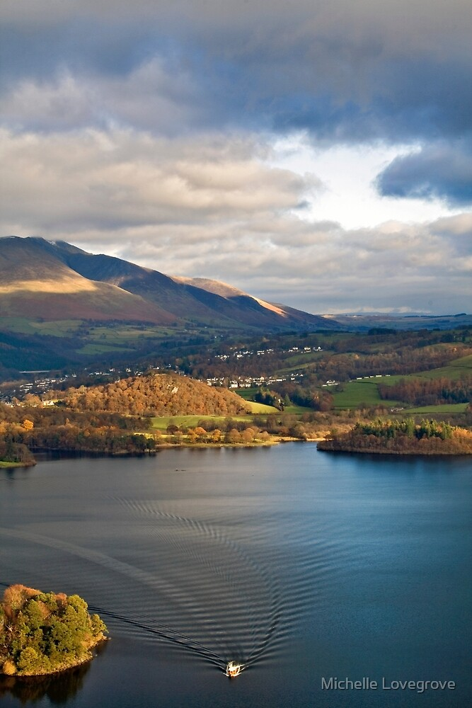 Derwent from Cats Bells by Michelle Lovegrove