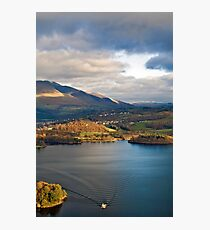 Derwent from Cats Bells Photographic Print