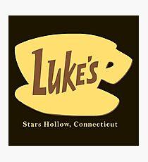 Luke's Diner Photographic Print