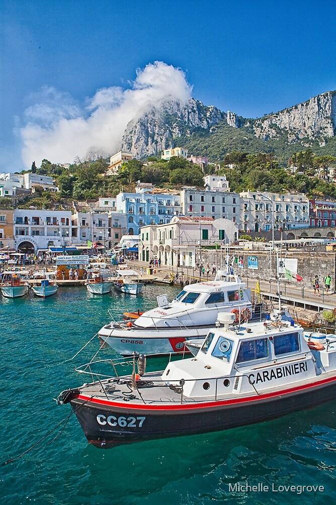 Capri, Italy by Michelle Lovegrove