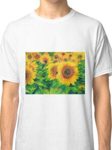 Arles Sunflowers Classic T-Shirt