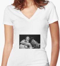Mad Dog Macrea Women's Fitted V-Neck T-Shirt