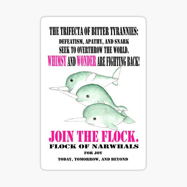 Join the Flock Sticker