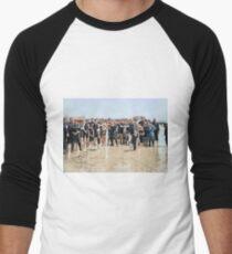 Smile for the camera!! Atlantic City, 1905 Baseball ¾ Sleeve T-Shirt