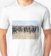 Smile for the camera!! Atlantic City, 1905 Slim Fit T-Shirt