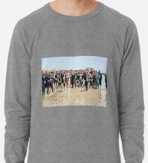 Smile for the camera!! Atlantic City, 1905 Lightweight Sweatshirt