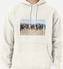 Smile for the camera!! Atlantic City, 1905 Pullover Hoodie