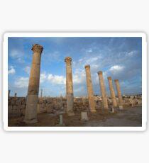 City greco-roman of Jerash Sticker