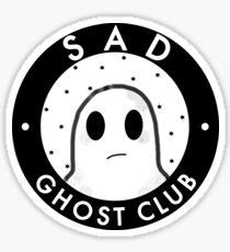 Sad ghost club Sticker