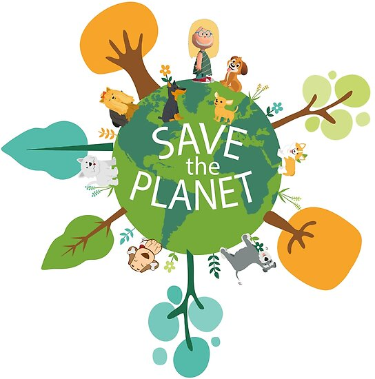 Quot Save The Planet Quot Poster By Galfizsolt Redbubble