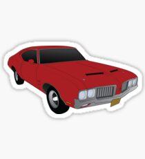 1970 w30 Oldsmobile Cutlass Sticker