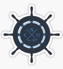 CNU Wheel Sticker