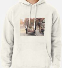 Clam seller on Mulberry Bend, New York, ca 1900 Pullover Hoodie