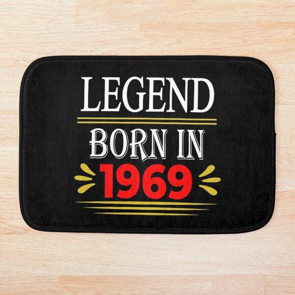 Legend Born In 1969 Bath Mat