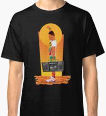 Sunset Boombox Classic T-Shirt