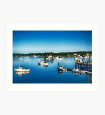 Boothbay Harbor Art Print