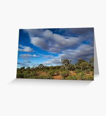 Colours of the Outback - Kilcowera Station Greeting Card