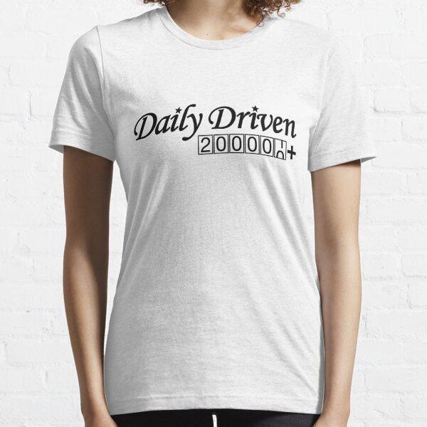 Täglich gefahren (2) Essential T-Shirt