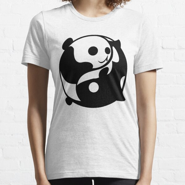 Yin and Yang- Panda and Orca Essential T-Shirt