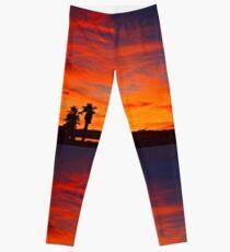 Last Night's Sunset Leggings